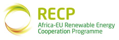 Renewable Energy Cooperation Programme RECP Logo