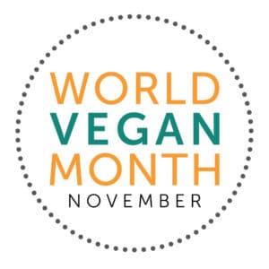 World Vegan Month Logo