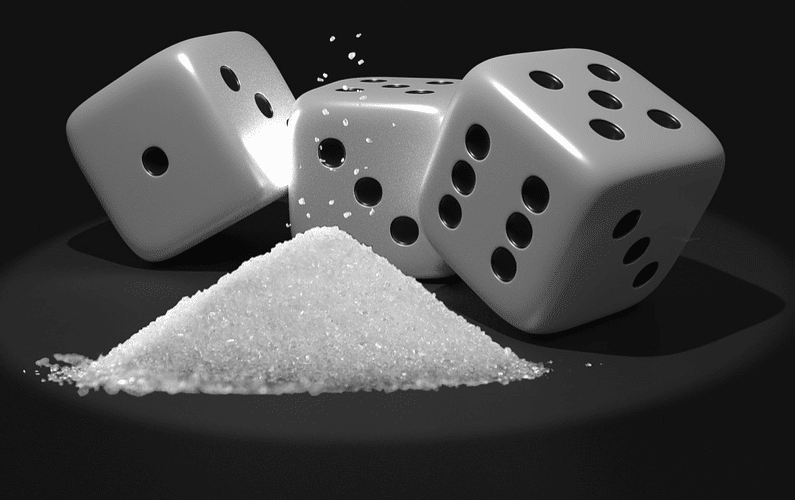 Sugar with Dice - Healthy Sugar Substitute Aspartame Side Effects